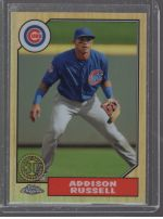 2017 Topps Chrome Addison Russell