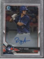 2018 Bowman Chrome Riley Adams