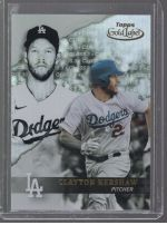 2020 Topps Gold Label Clayton Kershaw