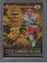 2020 Panini Illusions Legends Material Printing Plate Magenta Clyde Edwards Helaire<br />Card not available