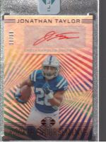 2020 Panini Illusions Legends Material Printing Plate Magenta Jonathan Taylor<br />Card Owner: Terry Gilbert