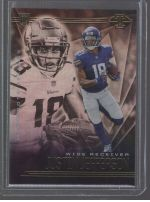2020 Panini Illusions Legends Material Printing Plate Magenta Justin Jefferson<br />Card not available