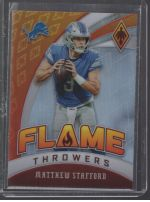 2020 Panini Phoenix Legends Material Printing Plate Magenta Matthew Stafford<br />Card Owner: Gil Narvaiz