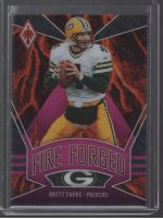 2020 Panini Phoenix Legends Material Printing Plate Magenta Brett Favre<br />Card Owner: Aaron Edwards
