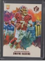 2019 Panini Chronicles Legends Material Printing Plate Magenta Dwayne Haskins<br />Card Owner: Christopher Saunders