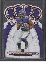 2019 Panini Chronicles Legends Material Printing Plate Magenta Alexander Mattison<br />Card Owner: Thomas Hodge