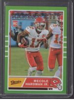 2019 Panini Chronicles Legends Material Printing Plate Magenta Mecole Hardman Jr<br />Card Owner: Mike Goff