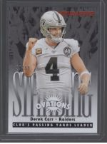 2020 Panini Rookies & Stars Legends Material Printing Plate Magenta Derek Carr<br />Card not available