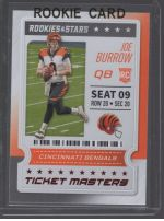 2020 Panini Rookies & Stars Legends Material Printing Plate Magenta Joe Burrow<br />Card Owner: Scott Belvin