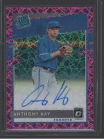 2020 Donruss Optic Legends Material Printing Plate Magenta Anthony Kay<br />Card not available