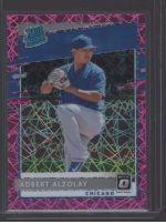 2020 Donruss Optic Legends Material Printing Plate Magenta Adbert Alzolay<br />Card Owner: Charles Price