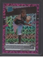 2020 Donruss Optic Legends Material Printing Plate Magenta Ronald Bolanos<br />Card not available