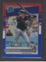 2020 Donruss Optic Legends Material Printing Plate Magenta Sam Hilliard<br />Card Owner: Brad Fullbright