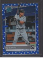 2020 Donruss Optic Legends Material Printing Plate Magenta Yu Chang<br />Card Owner: Josh Gallup
