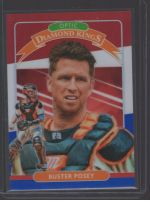 2020 Donruss Optic Legends Material Printing Plate Magenta Buster Posey<br />Card Owner: Bob Zabloudil