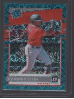 2020 Donruss Optic Legends Material Printing Plate Magenta Domingo Leyba<br />Card Owner: Josh Gallup