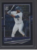 2020 Donruss Optic Legends Material Printing Plate Magenta Lorenzo Cain<br />Card not available
