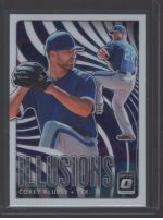 2020 Donruss Optic Legends Material Printing Plate Magenta Corey Kluber<br />Card Owner: Brandon Tipton