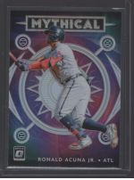 2020 Donruss Optic Legends Material Printing Plate Magenta Ronald Acuna Jr<br />Card Owner: Josh Gallup