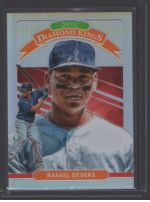 2020 Donruss Optic Legends Material Printing Plate Magenta Rafael Devers<br />Card not available
