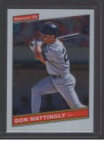 2020 Donruss Optic Legends Material Printing Plate Magenta Don Mattingly<br />Card Owner: Nick Cirksena