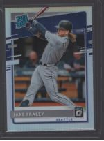 2020 Donruss Optic Legends Material Printing Plate Magenta Jake Fraley<br />Card Owner: Brad Fullbright