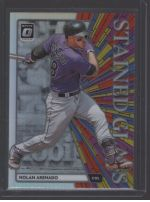 2020 Donruss Optic Legends Material Printing Plate Magenta Nolan Arenado<br />Card Owner: Brad Fullbright