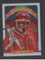 2020 Donruss Optic Legends Material Printing Plate Magenta Mike Trout<br />Card not available