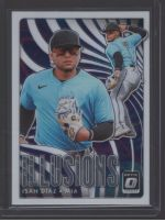 2020 Donruss Optic Legends Material Printing Plate Magenta Isan Diaz<br />Card not available
